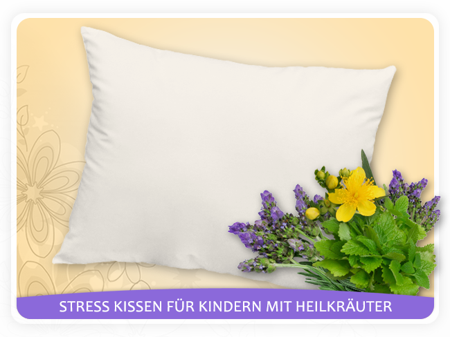 herbafill stress kissen f r kinder und jugendliche. Black Bedroom Furniture Sets. Home Design Ideas